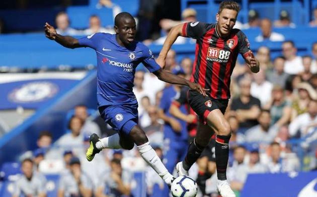 SỐC: Kante làm điều 'không thể tin nổi' trong trận gặp Bournemouth - Bóng Đá