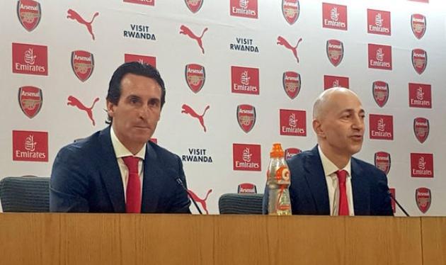 Emery 'thất vọng' vì một cái tên ở Arsenal - Bóng Đá