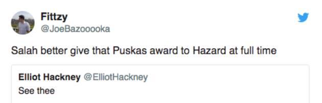 NHM Chelsea yêu cầu Salah trao lại giải Puskas cho Hazard - Bóng Đá