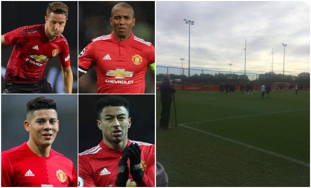 Jesse Lingard, Ander Herrera, Ashley Young, Marcos Rojo bỏ lỡ sự huấn luyện của Manchester United trước cuộc đụng độ của Valencia - Bóng Đá