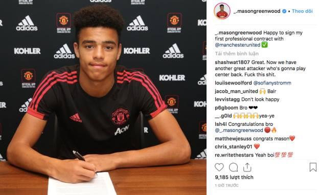 Xác nhận: Man Utd có hợp đồng đầu tiên - Bóng Đá