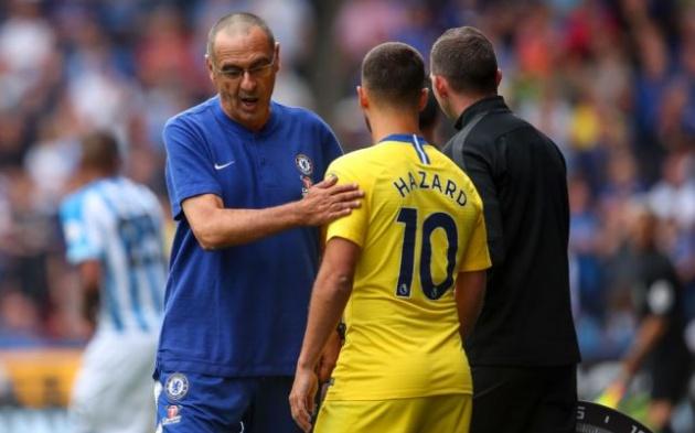 Sarri tiết lộ điều 'bất ngờ' giúp Hazard ghi 40 bàn/mùa - Bóng Đá