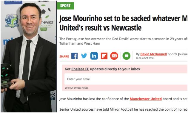 Man Utd 'nghiêm trị' người tung tin giả mạo sa thải Mourinho - Bóng Đá