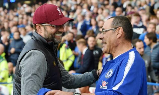 Sarri tiết lộ điều bất ngờ về Klopp ở trận hoà tại Stamford Bridge - Bóng Đá