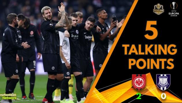 9 thống kê kinh ngạc sau lượt trận Europa League rạng sáng nay - Bóng Đá