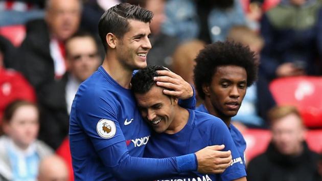 Pedro tiết lộ các cầu thủ Chelsea rất vui điều này của Morata - Bóng Đá