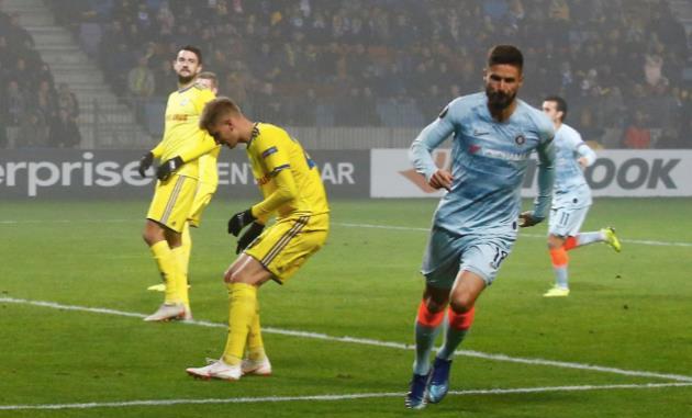 Sarri-ball thị uy sức mạnh, Chelsea thắng tối thiểu trên đất Belarus - Bóng Đá