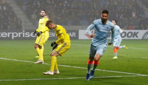 Giroud lập công, Sarri khẳng định điều này chắc như 'đinh đóng cột' - Bóng Đá