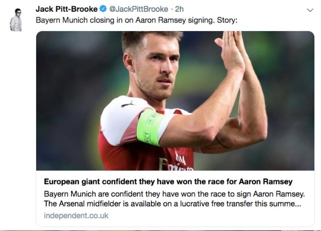 Nóng! Tương lai dần sáng tỏ, Ramsey có thể làm trò Zidane - Bóng Đá