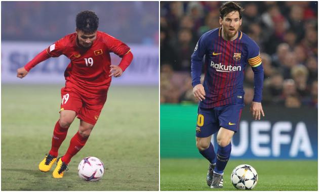 Công Phượng là Messi thời trẻ, người này mới là Messi hiện tại! - Bóng Đá