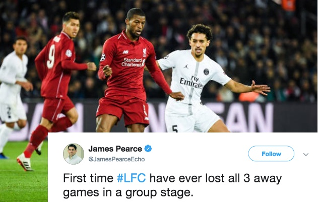 Liverpool có lần đầu tiên sau trận thua PSG - Bóng Đá