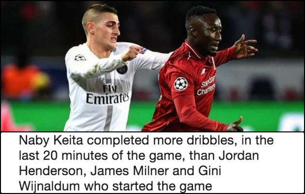 Ra sân 20 phút trận PSG, tân binh Liverpool ăn đứt 3 cầu thủ đá chính - Bóng Đá