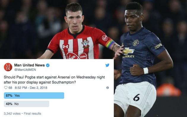 NHM Man Utd nghĩ gì về Pogba ở trận gặp Arsenal? - Bóng Đá