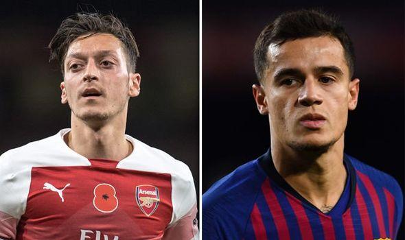 'Arsenal không Ozil cũng giống như Liverpool không Coutinho' - Bóng Đá