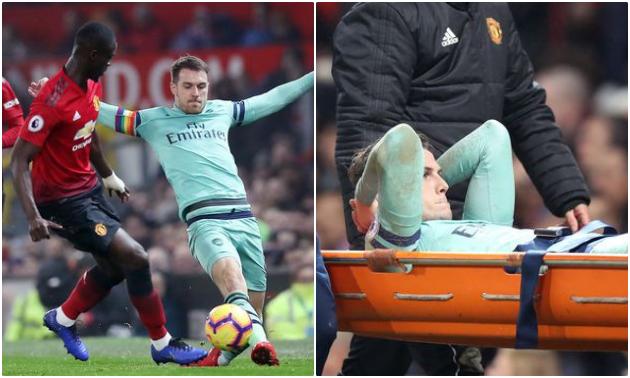 Arsenal tổn thất nghiêm trọng sau trận Man Utd - Bóng Đá
