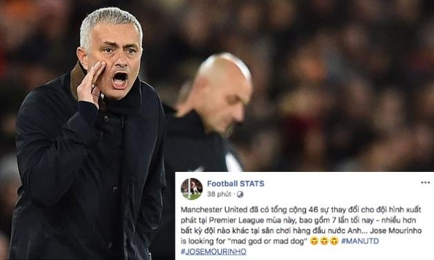 Mourinho có tinh thần