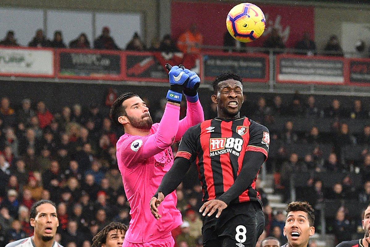 Alisson đi vào lịch sử Liverpool sau đại thắng Bournemouth - Bóng Đá