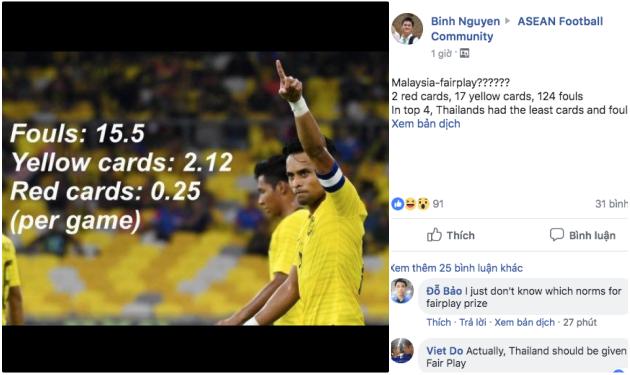NHM Malaysia 'đá đểu':