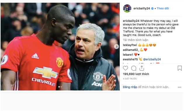 Eric Bailly phá vỡ im lặng, tiết lộ sự thật mối quan hệ với Mourinho - Bóng Đá