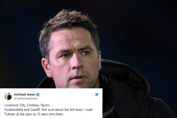 Michael Owen đưa ra nhận định về top 4 Premier League, bất ngờ với Man Utd - Bóng Đá
