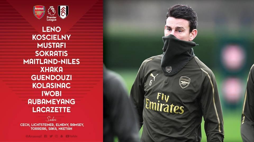 Vì sao Ozil bị loại khỏi đội hình Arsenal đấu Fulham? - Bóng Đá