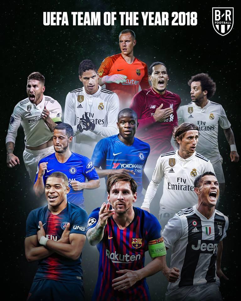 ĐHTB Châu Âu: Real 48-47 Barca, Ronaldo 13-10 Messi - Bóng Đá