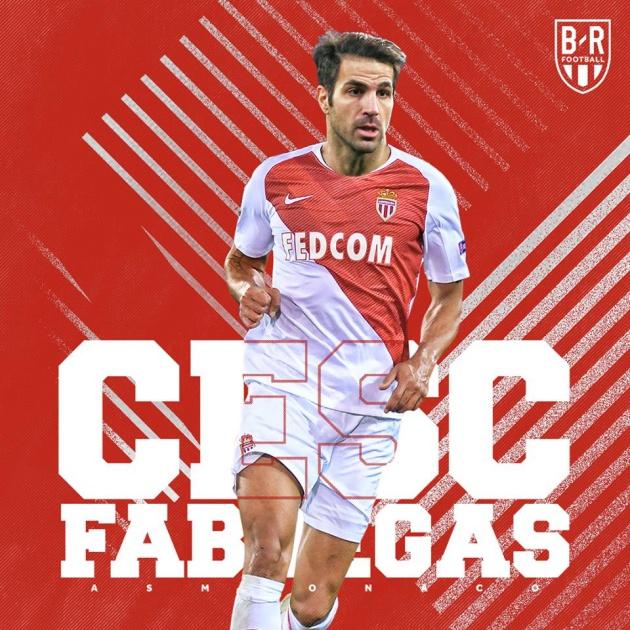 CHÍNH THỨC: Cesc Fabregas gia nhập Monaco - Bóng Đá