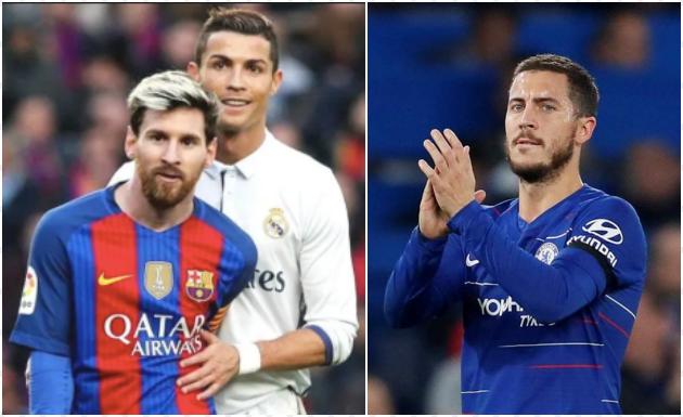 Ronaldo và Messi, ai là GOAT trong mắt Hazard? - Bóng Đá