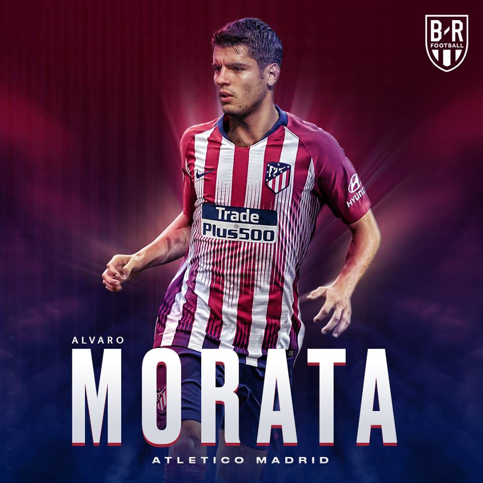 CHÍNH THỨC: Alvaro Morata gia nhập Atletico  - Bóng Đá