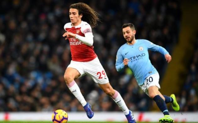 Chỉ có 1 cầu thủ Arsenal chơi tốt trước Man City - Bóng Đá