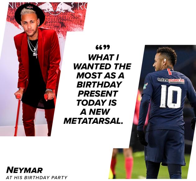 Neymar ước 1 điều