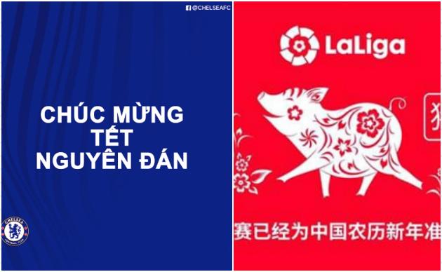 Chelsea dùng 5 chữ, hạ gục La Liga với thông điệp chúc Tết Nguyên đán - Bóng Đá