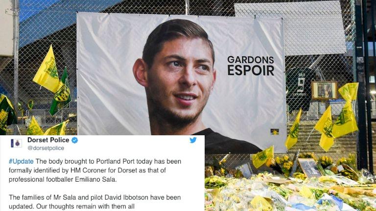 CHÍNH THỨC: Xác định danh tính thi thể trong máy bay chở Emiliano Sala - Bóng Đá