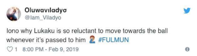 Người hâm mộ United chỉ trích Lukaku sau màn trình diễn trước Fulham - Bóng Đá