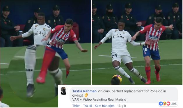 NHM đã tìm ra ý nghĩa thực sự của VAR ở trận derby Madrid - Bóng Đá