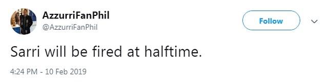 Fan Chelsea: Sarri sẽ bị sa thải trong sáng mai! - Bóng Đá