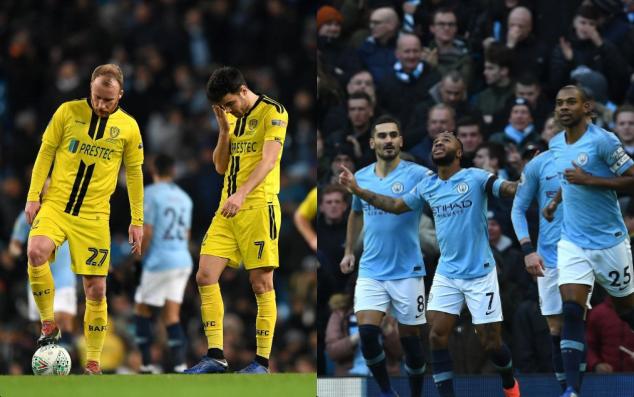 Chelsea còn tệ hại hơn đội hạng nhì Burton khi đối đầu với Man City - Bóng Đá