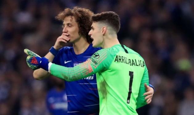 David Luiz tiết lộ điều đã nói với Kepa trong tình huống