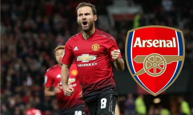 Khó tin! Arsenal muốn chiêu mộ sao đội một Man Utd, không phải Mata - Bóng Đá