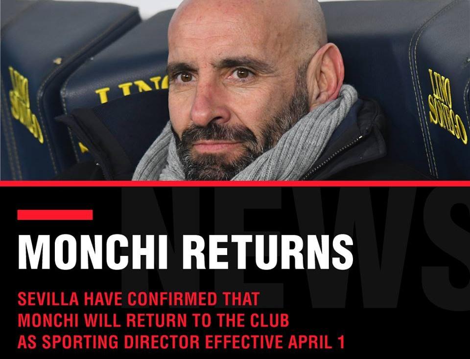 CHÍNH THỨC: Monchi tìm được bến đỗ mới, không phải Arsenal - Bóng Đá