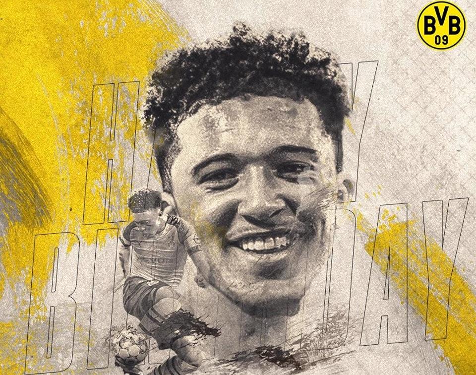 Chúc mừng sinh nhật Jadon Sancho, viên ngọc mới của bóng đá thế giới! - Bóng Đá