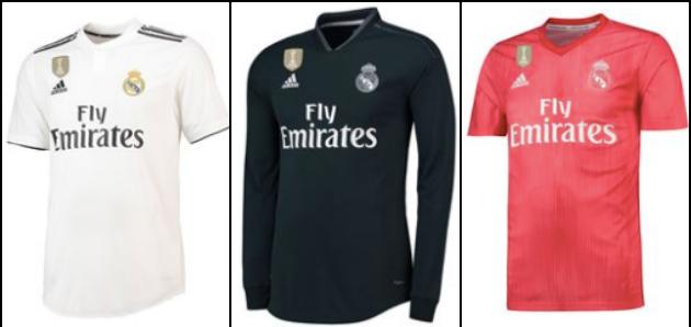 Rò rỉ mẫu áo đấu mới của Real Madrid, trông không khác gì... Arsenal - Bóng Đá