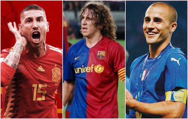Vượt Cannavaro, Ramos và Puyol, huyền thoại Milan là hậu vệ xuất sắc nhất lịch sử - Bóng Đá