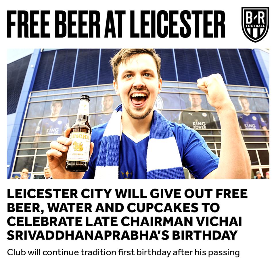 Leicester tiếp tục làm việc đầy ý nghĩa sau tai nạn của chủ tịch Vichai - Bóng Đá