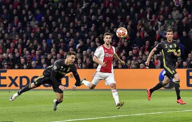 Xé lưới Ajax, Ronaldo xứng danh