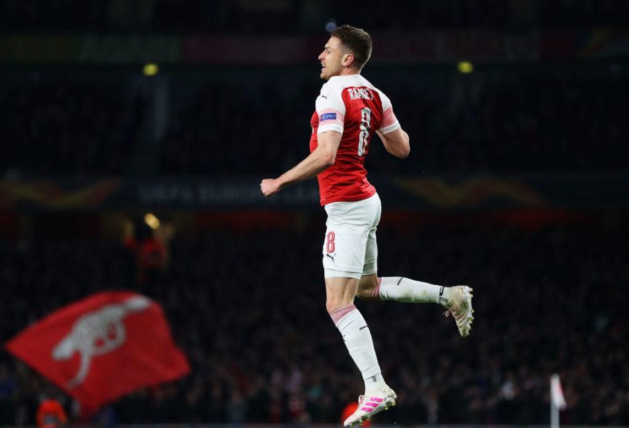 Fan Arsenal nhói lòng vì pha lập công của Ramsey - Bóng Đá
