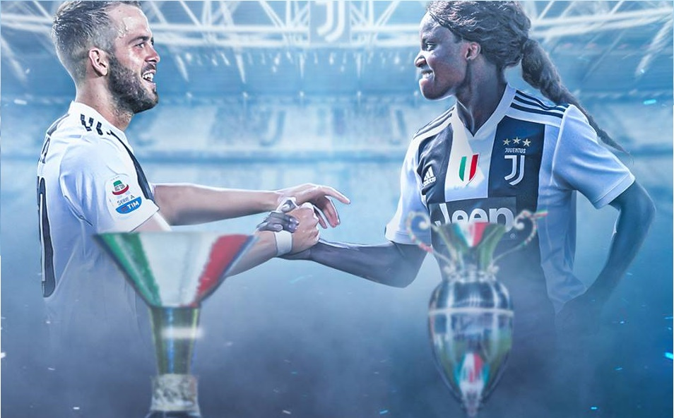 Tối qua, 2 Juventus vô địch nước Ý - Bóng Đá