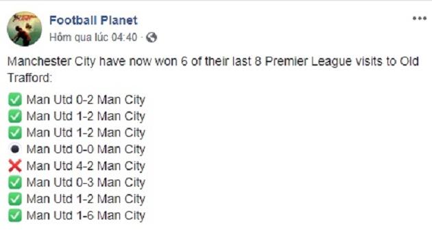 Cay đắng! Old Trafford bị gọi là sân tập của Man City - Bóng Đá