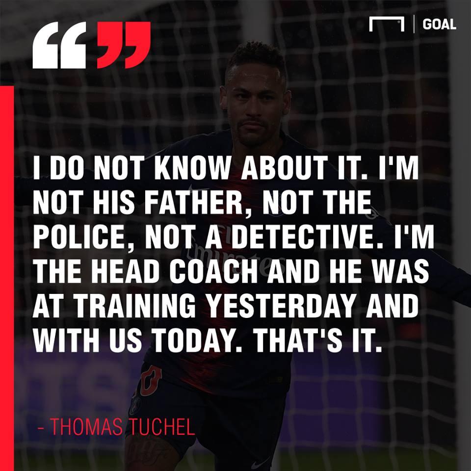 NÓNG! PSG có biến căng giữa Tuchel và Neymar - Bóng Đá
