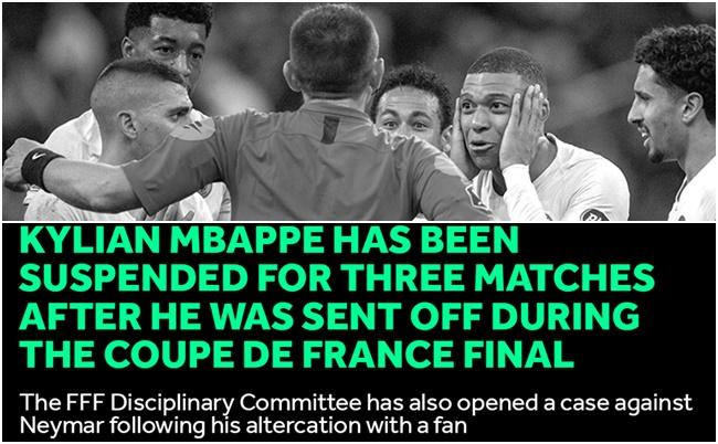 XONG! Neymar chưa thoát, đến lượt Mbappe mang hung tin cho PSG